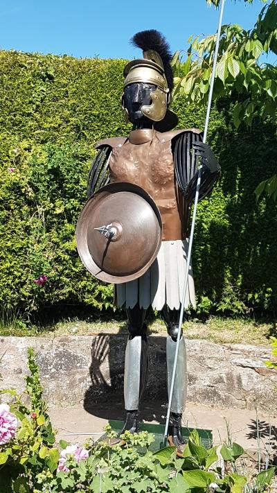 Roman Centurion by John Macklin
