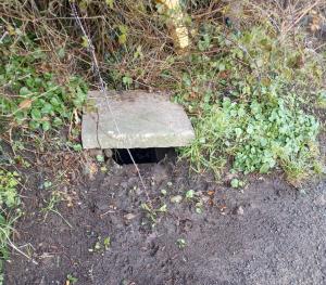 Drainage in Bishopstone, Herefordshire