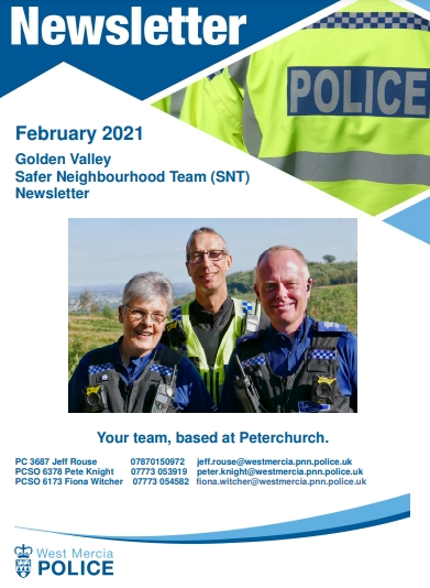 Herefordshire police update feb 2021